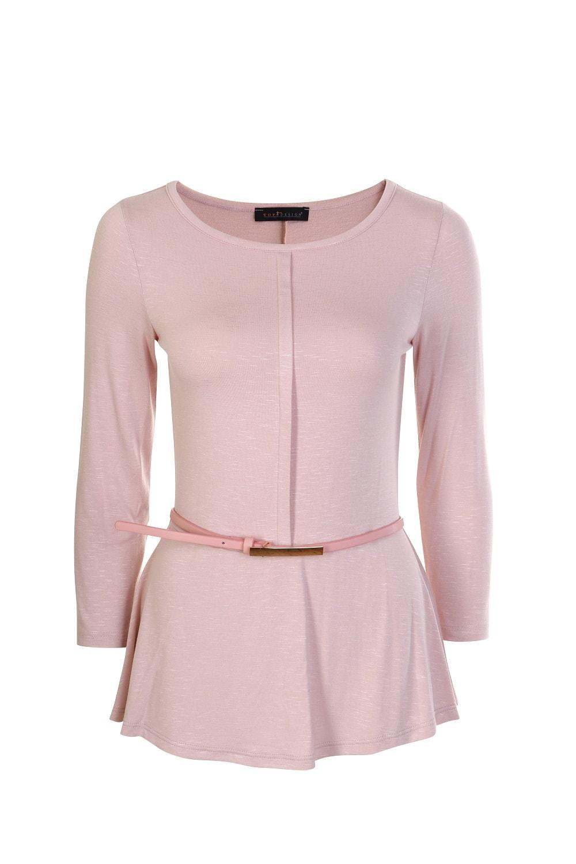 Розовая блузка TopDesign А7 140