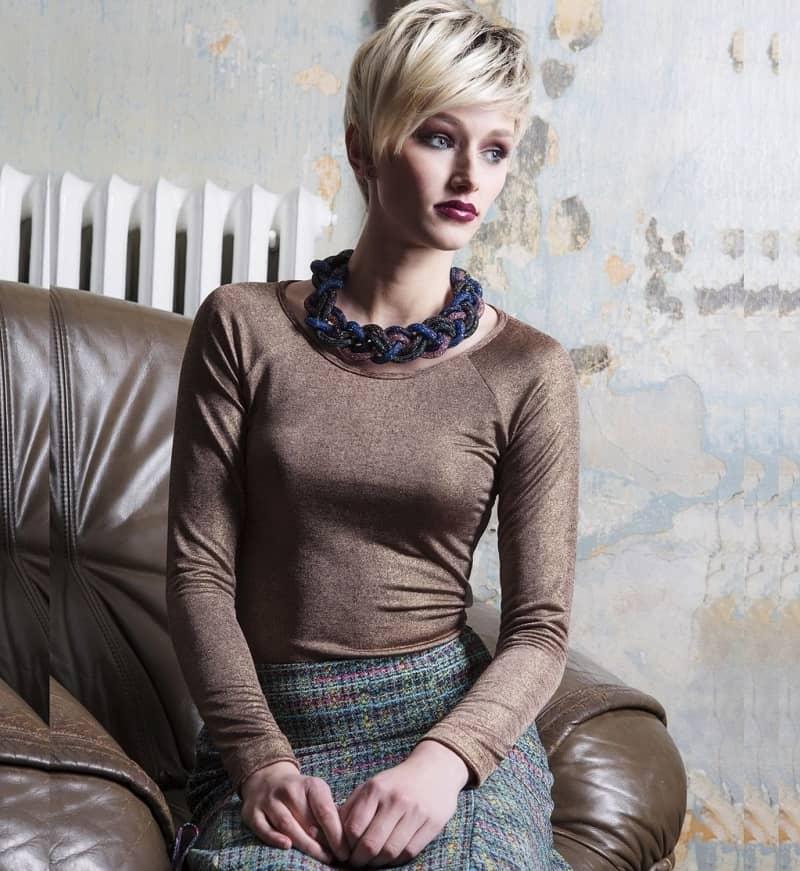Красивая блузка Flaibach 019W5