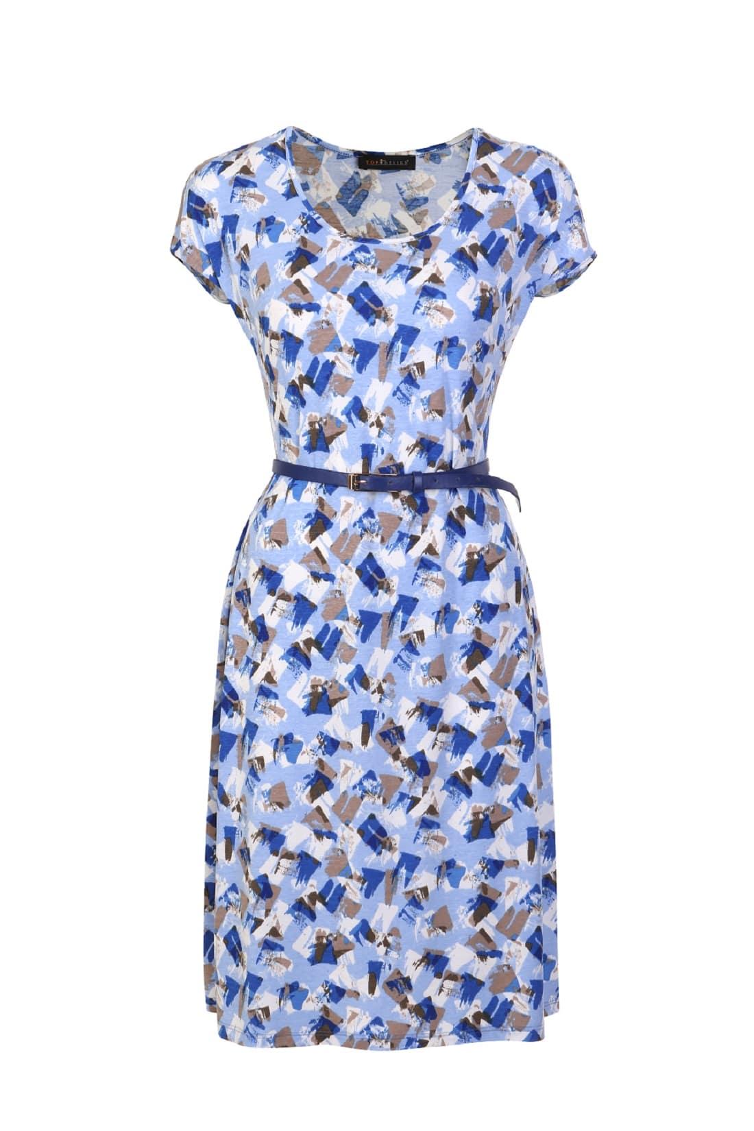 Стильное летние платье Top Design А7 137