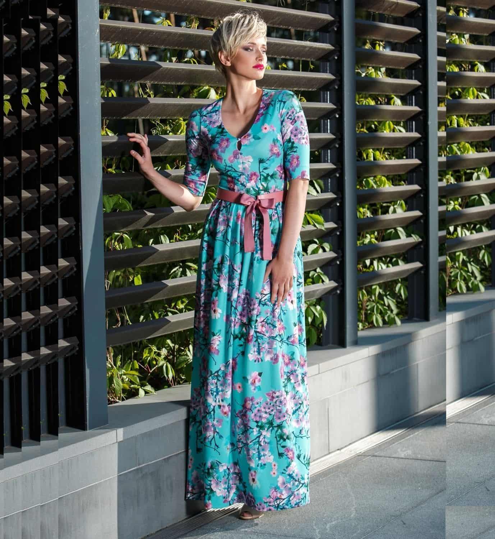 Длинное красивое платье Flaibach 129S7