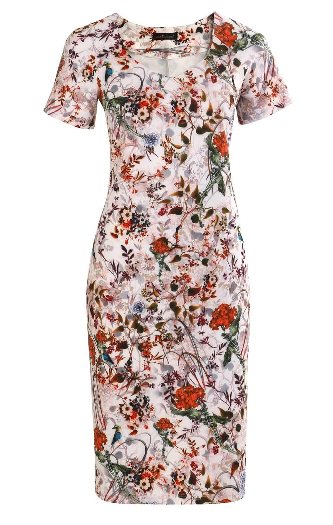 Женское летние платье TopDesign А7 094