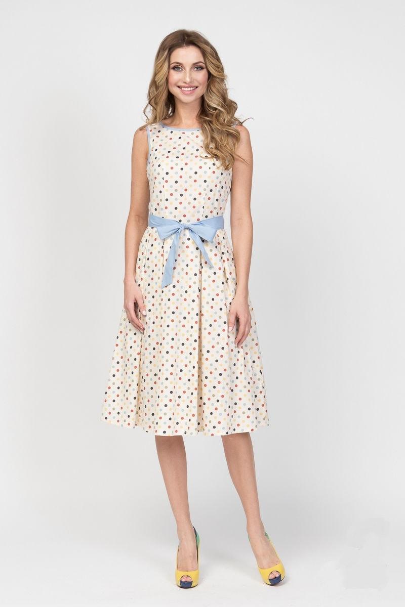 Нежное летние платье LalaStyle 1239-93