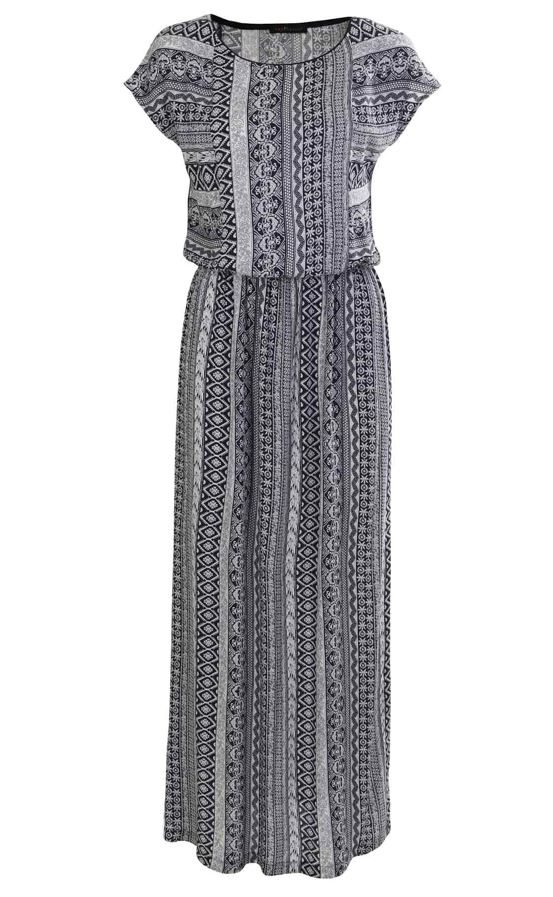 Летнее длинное платьеTopDesign А7 074