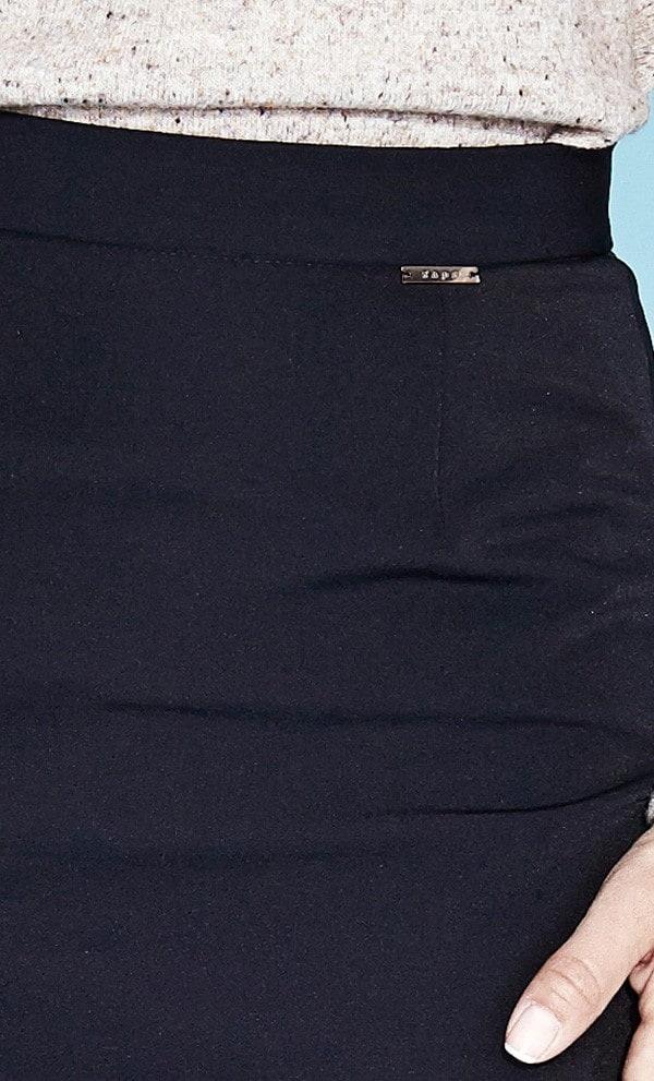 Черная офисная юбка Zaps Ela 004