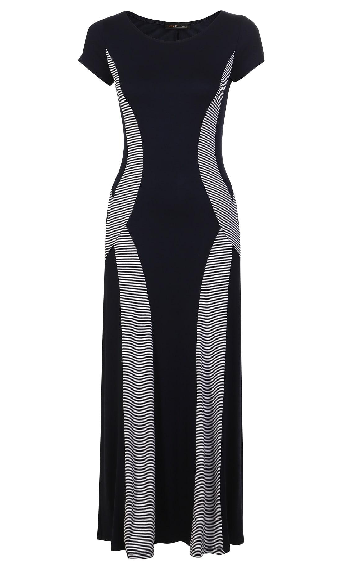 Длинное летние платье TopDesign А7 051