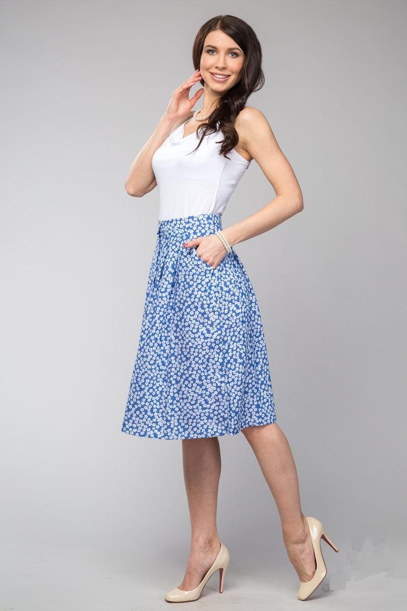 Летняя юбка LalaStyle 1026-11