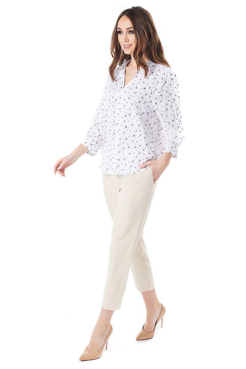 Летняя женская блузка LalaStyle 1401-228