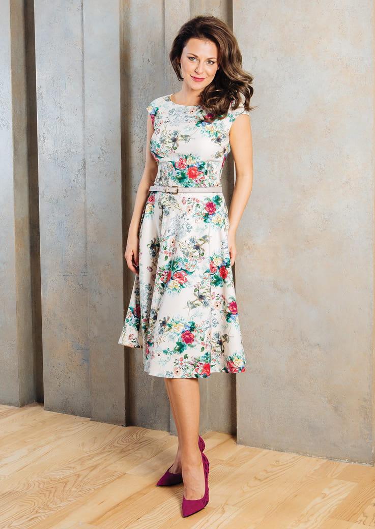 Элегантное платье TopDesign А7 095
