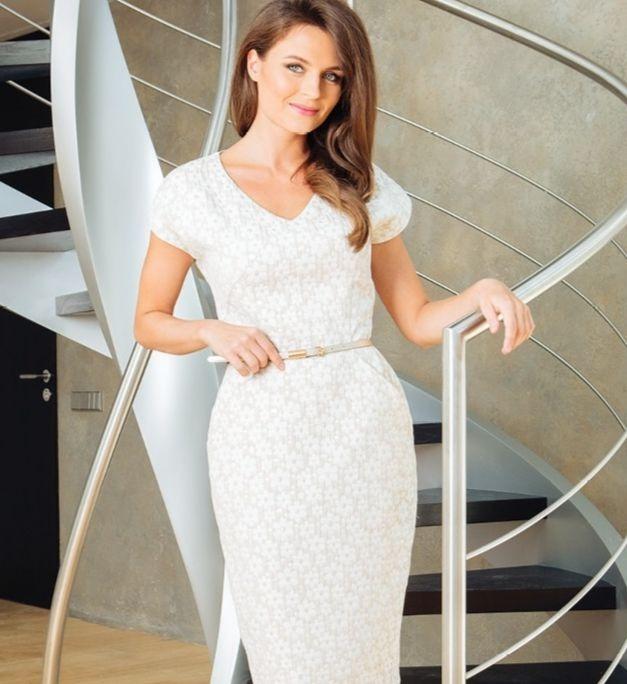Нарядное платье на торжественный день TopDesign РА7 45