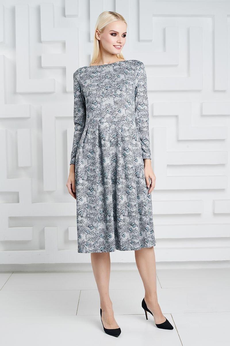 Модное платье LalaStyle 1346-274