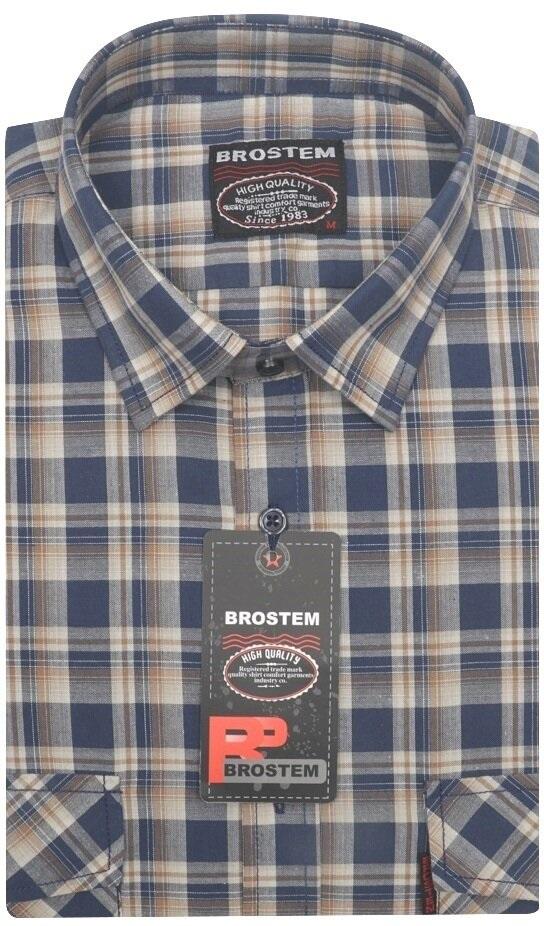Хлопковая рубашка в клетку Brostem SH653