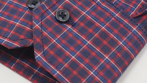 Хлопковая прямая рубашка Brostem SH670-1