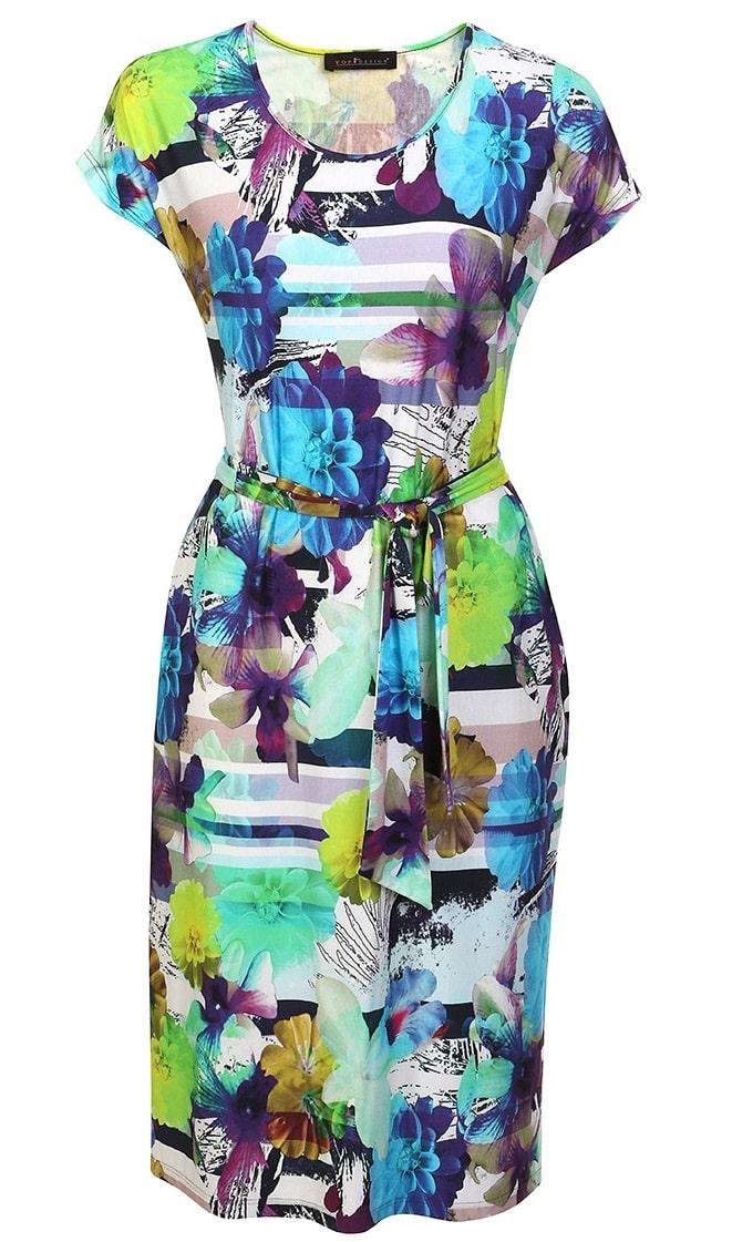 Летние платье на каждый день Top Design A7 019