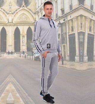 Мужской спортивный костюм с капюшоном Berchelli