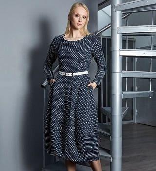 Платье баллон Top Design B9 019