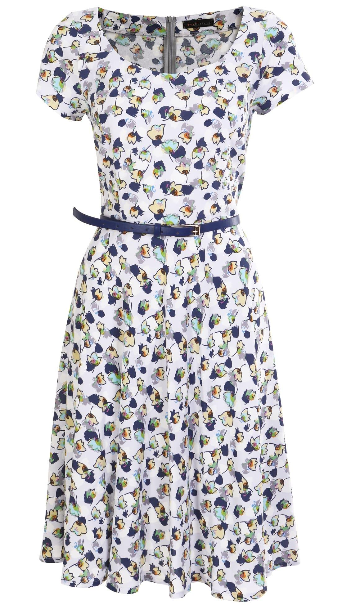 Платье из вискозы Top Design A7 135