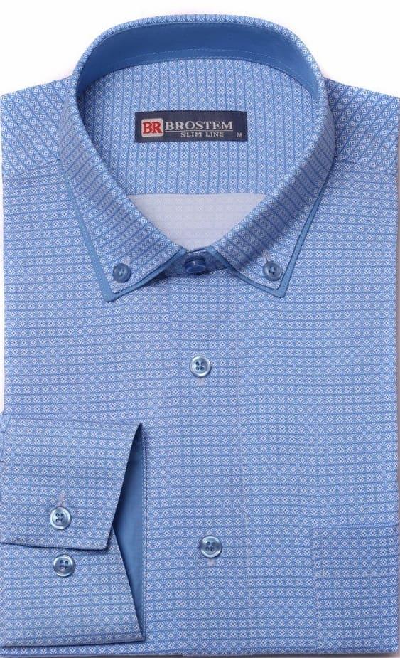 Мужская стильная рубашка Brostem  1LBR100+3