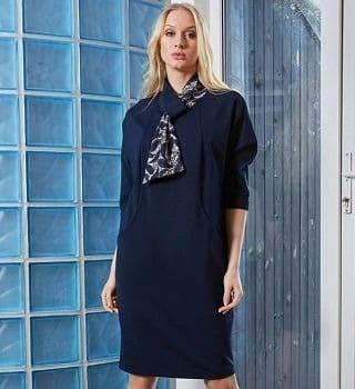 Стильное женское платье  TopDesign В9 114