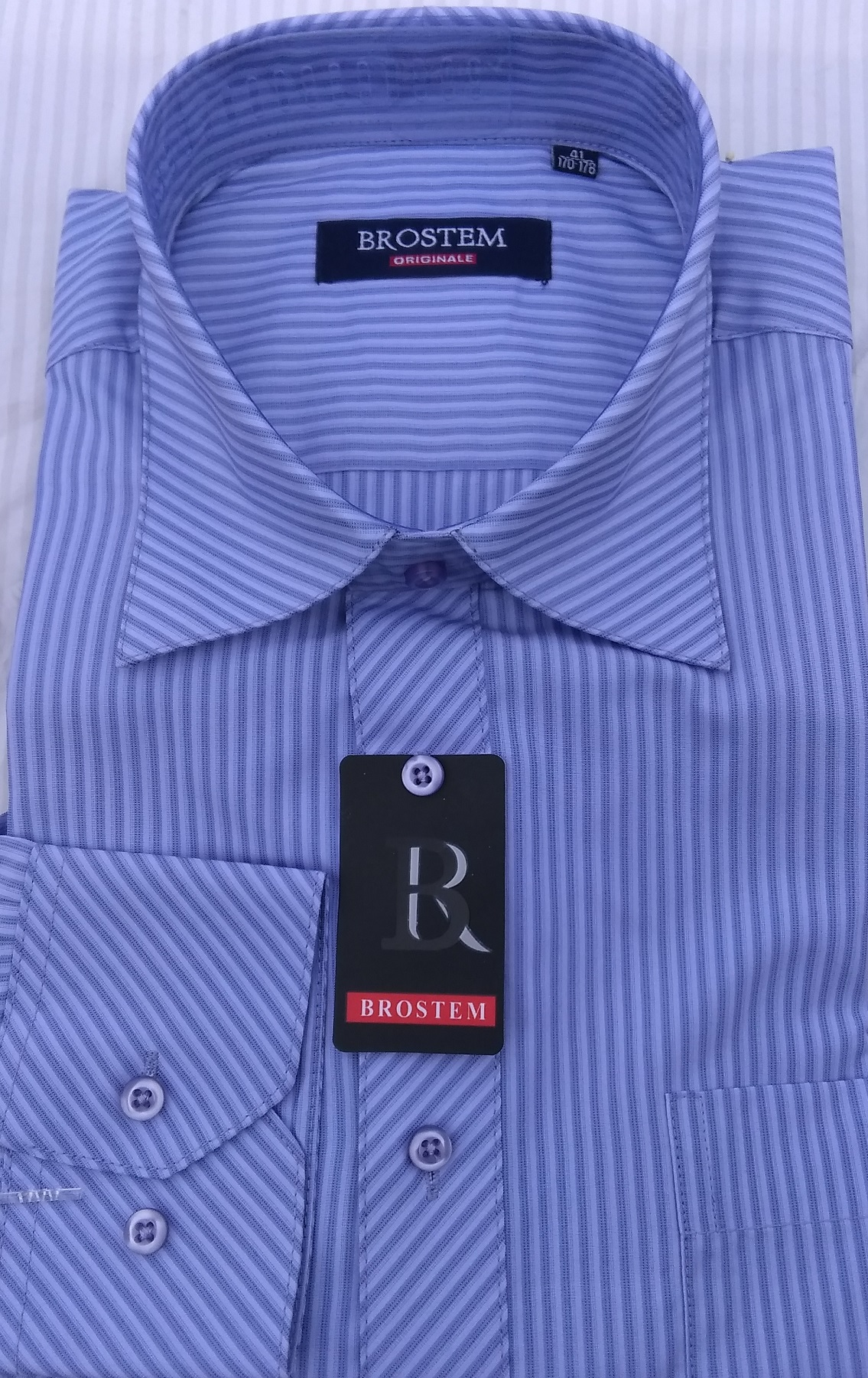 Стильная мужская рубашка Brostem 49258