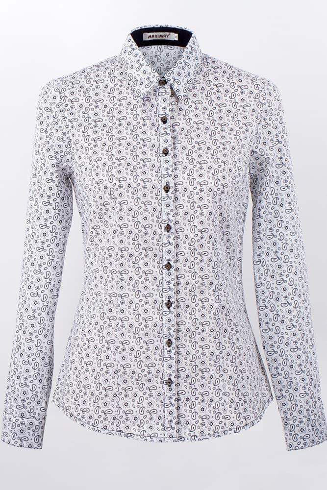 Деловая женская рубашка   Marimay 1583