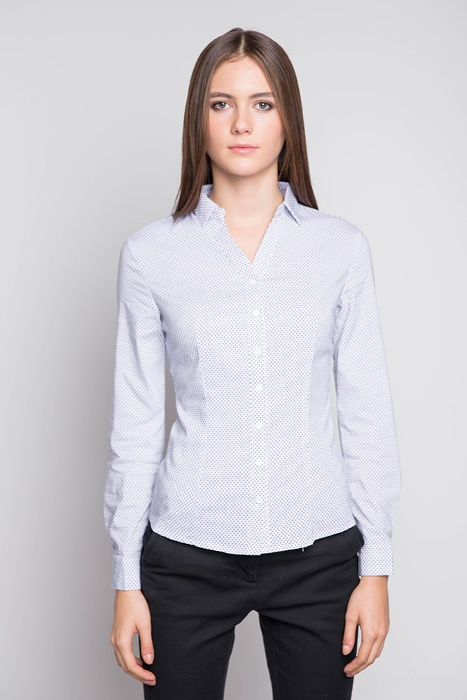 Женская рубашка с долгим  рукавом Marimay 1577