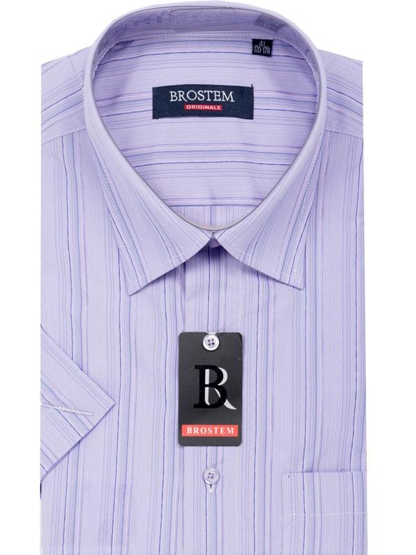 Деловая рубашка мужская на лето Brostem 23570
