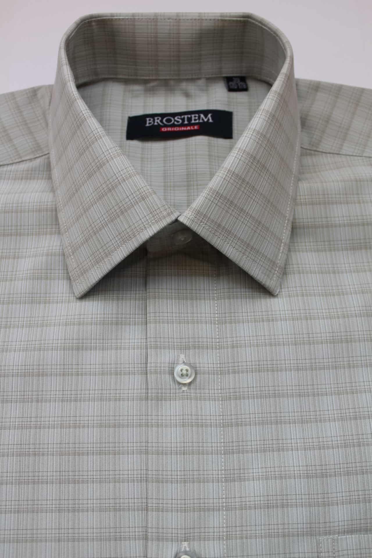 Летняя рубашка в клетку Brostem 2808-20