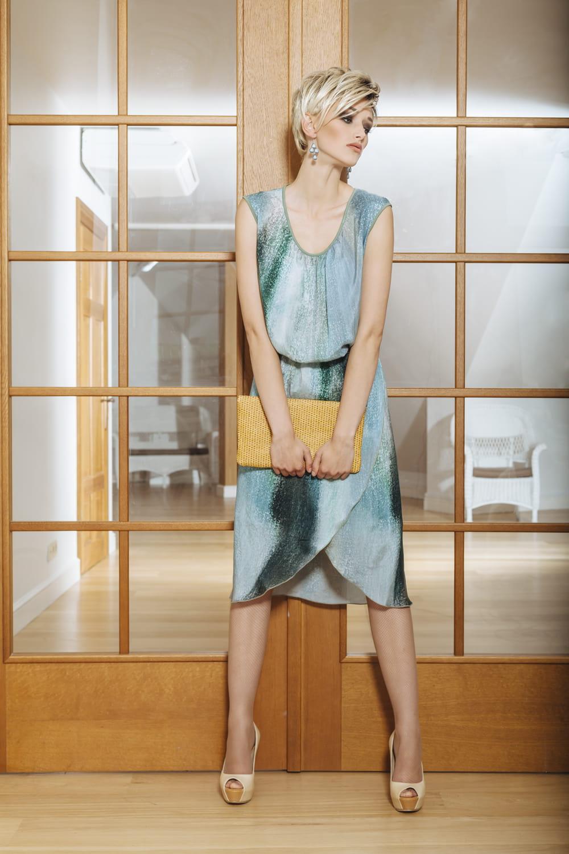 брендовое летние платье