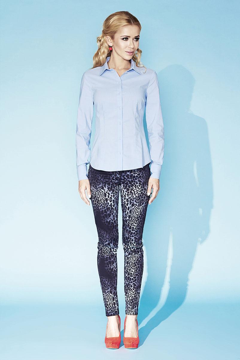 Голубая женская блузка Zaps Cameron 025