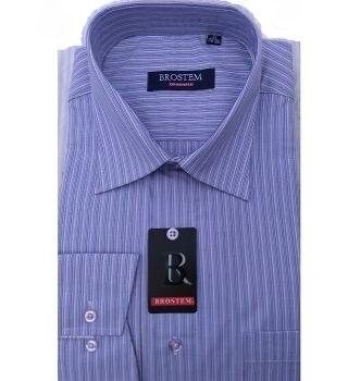 Красивая рубашка в полоску Brostem 930