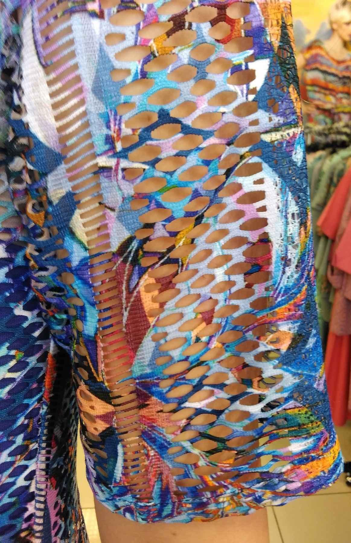 Эффектное платье на лето TopDesign PA9 56