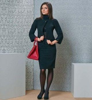 Офисная юбка TopDesign B4 131