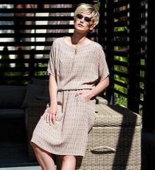 Платье из натуральной ткани Flaibach 087S7