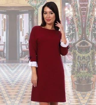 Платье прямого силуэта Natali