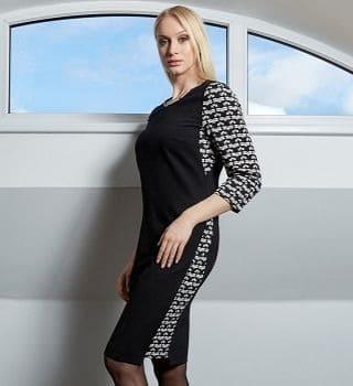 Стильное платье Top Desing B9 038
