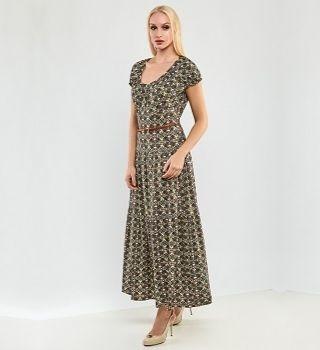 Длинное платье на лето Top Design A9 019