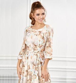 Платье летние LalaStyle S01035-309