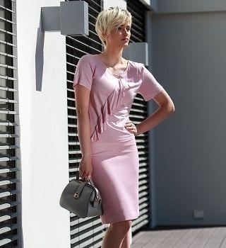 Однотонная юбка на лето Flaibach 002S7