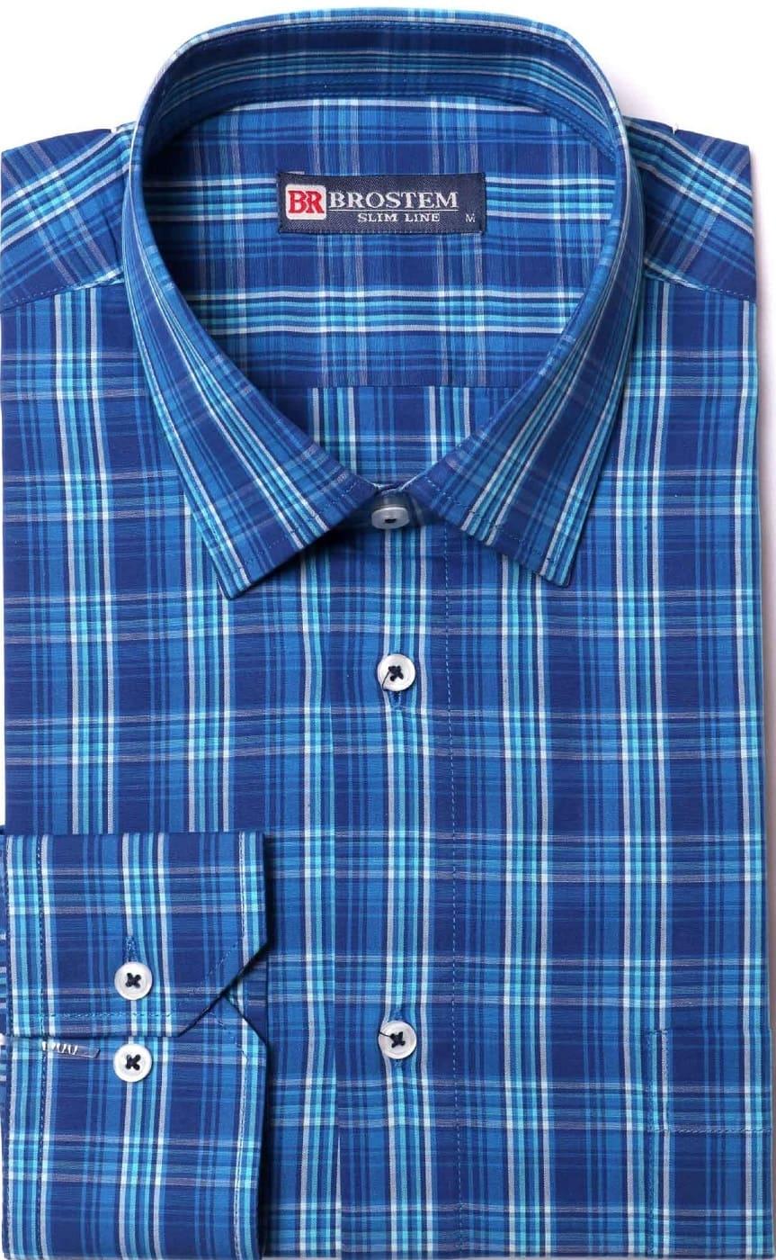 Рубашка мужская хлопковая Brostem K6-276