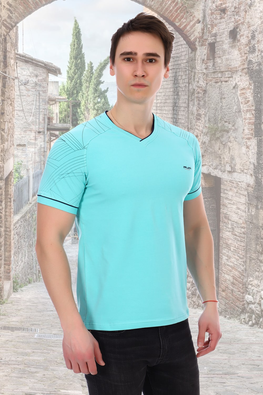 Ментоловая футболка мужская Berchelli
