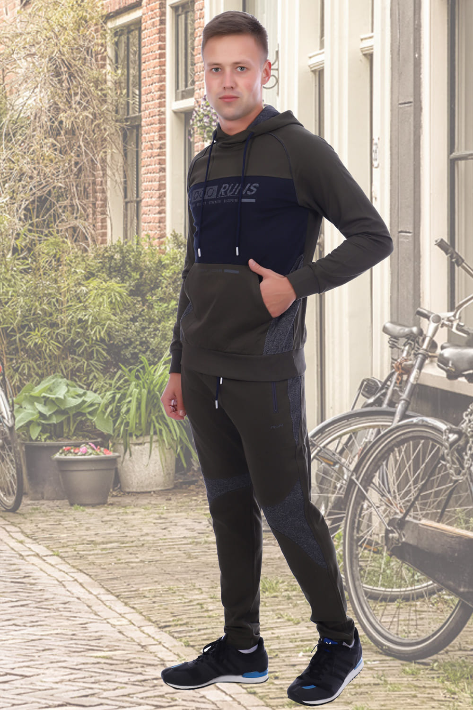 Спортивный костюм цвета хаки Berchelli