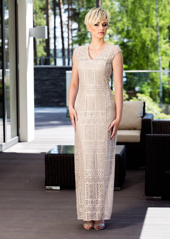 Летнее длинное платье Flaibach 052S7