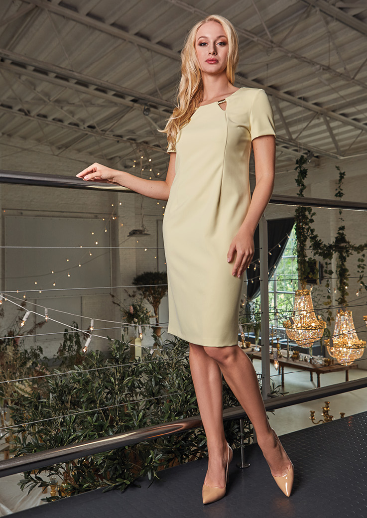 Модное платье TopDesign PA8 17