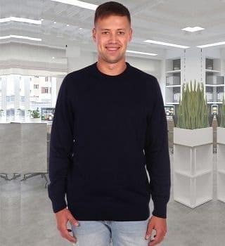 Теплый мужской свитер Berchelli