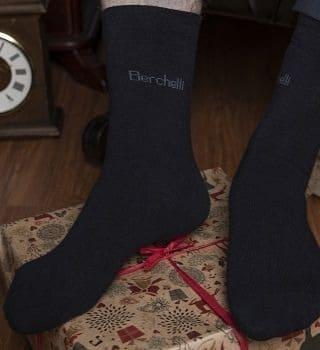 Высокие носки Berchelli набор  6 пар