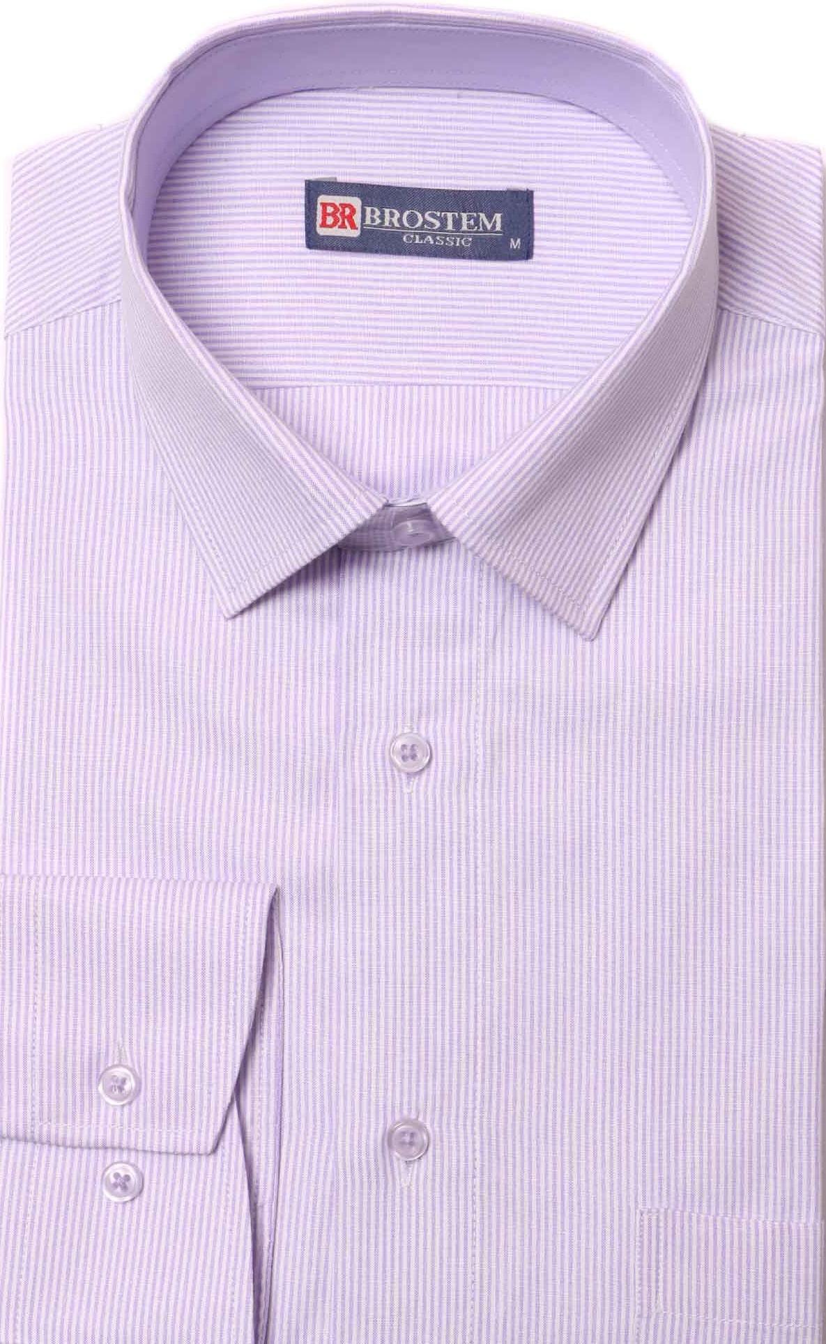Мужская рубашка в полоску Brostem 8880-12