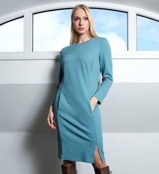 Офисное платье TopDesign B9 029