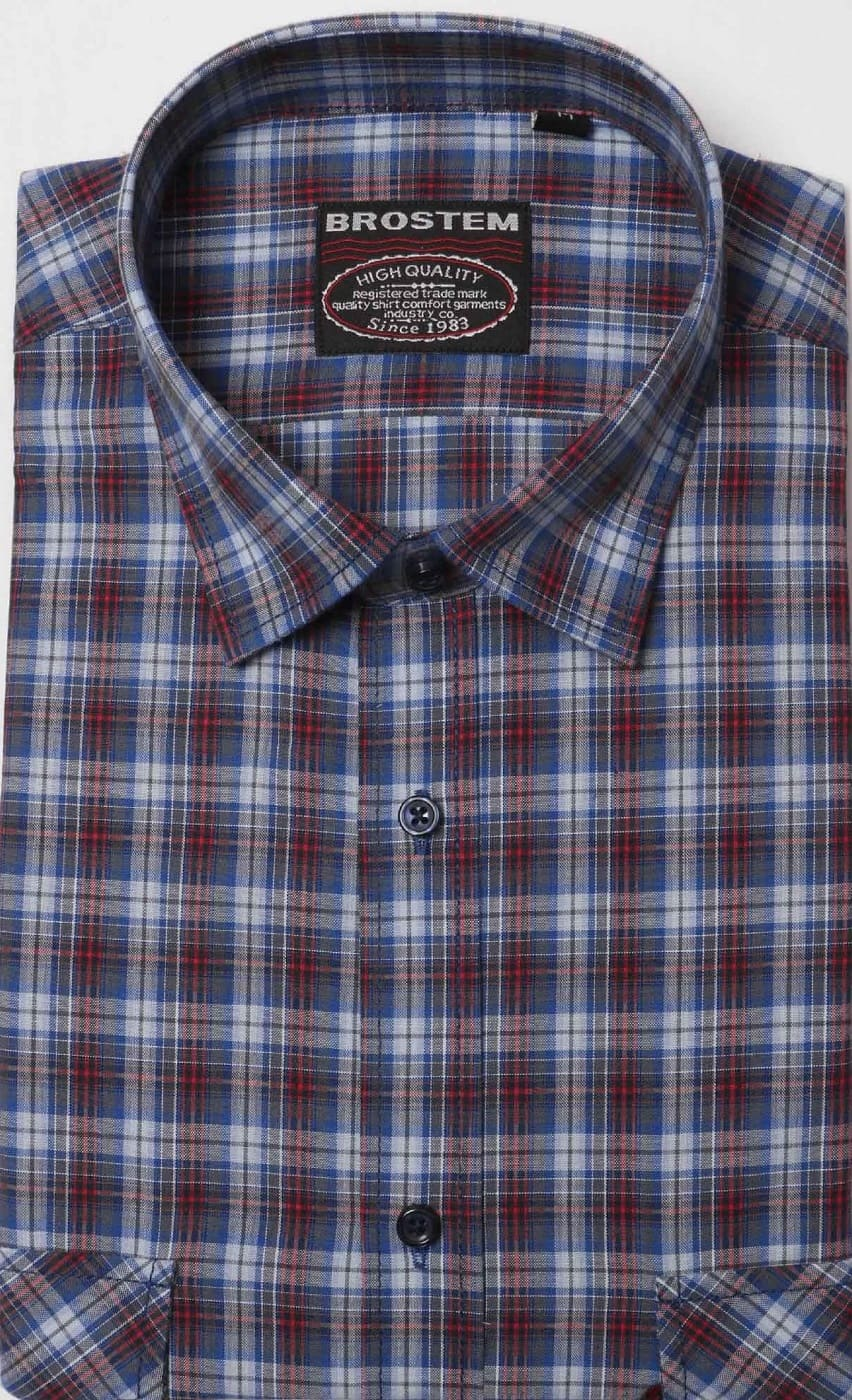 Хлопковая классическая рубашка Brostem SH5