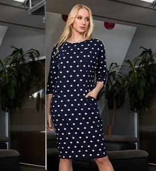 Женское манера ное платье TopDesign B9 109