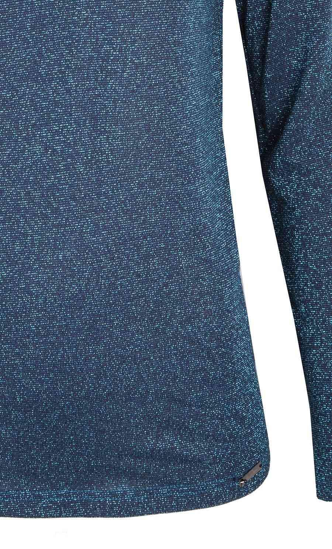 Изумрудная мерцающая блузка Zaps HELENE 023